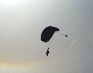 Hannah Skydiving at 25