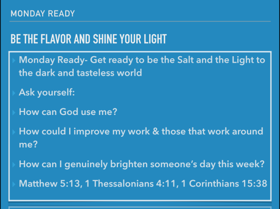 Be ready to Shine!
