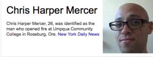 Chris Harper Mercer NEW YORK DAILY NEWS