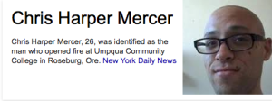 Chris Harper Mercer NEW YORK DAILY NEWS
