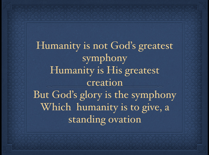 We Glory in HIM!