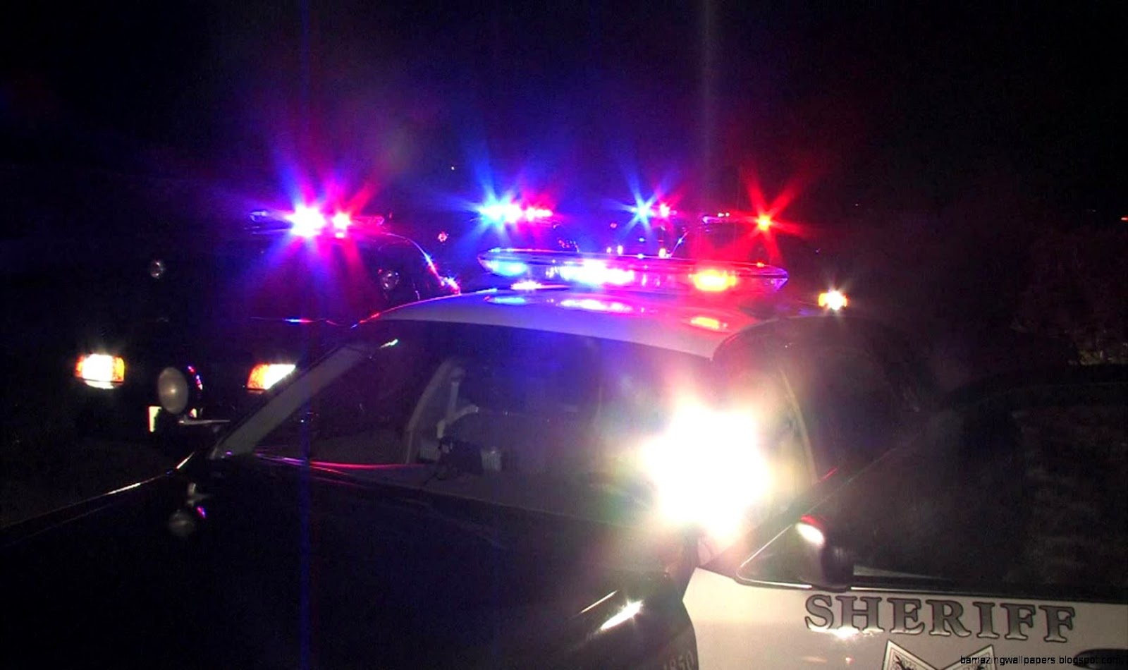police-car-with-flashing-lights