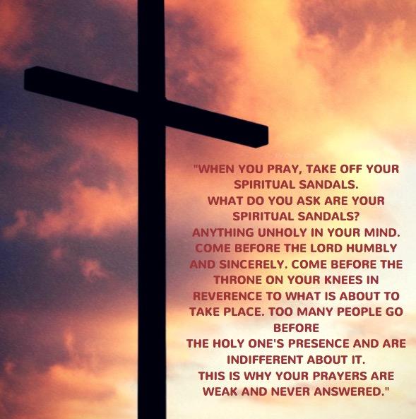 Serious Business of Prayer